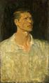 Aimitsu-1944-Self-Portrait Dressing a White Shirt.png
