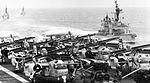 Aircraft of CVSG-53 on deck of USS Kearsarge (CVS-33) in 1966.jpg