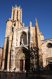 cathedral in Aix-en-Provence, France