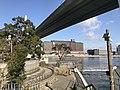 Ajigawa River and Tempozan Bridge near Tempozan Park.jpg