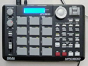 We're New Here - Image: Akai MPC500