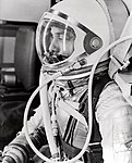 Alan Shepard in Space Suit before Mercury Launch (9460616788).jpg