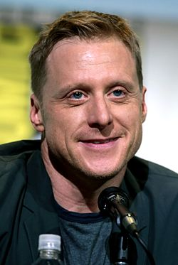 Alan Tudyk San Diegon Comic-Conissa 2016.