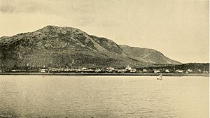 Metlakatla, Alaska - Metlakatla as it appeared in the 1890s.