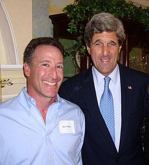 Alex Alben - Alex Alben and John Kerry 2004 campaign