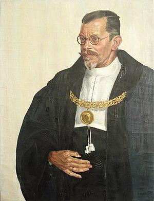Albert Rehm - Portrait by Ernst Maria Fischer.