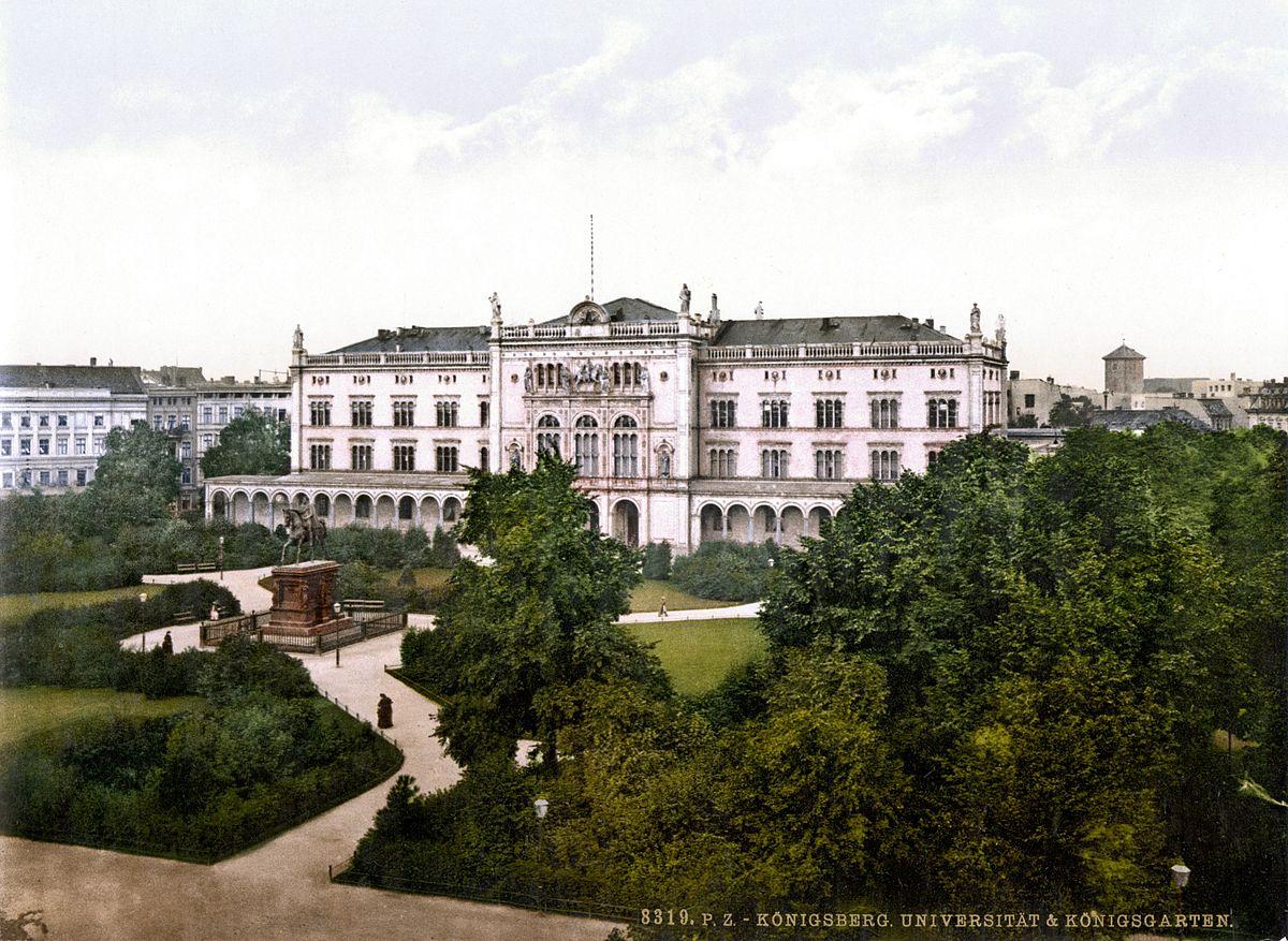 Resultado de imagen para universidad de königsberg