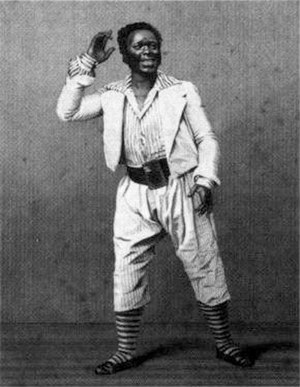 Ira Aldridge - Ira Aldridge as Mungo in The Padlock