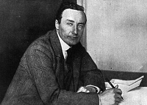 Alec Ogilvie - Alec Ogilvie at his desk in 1919