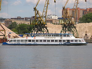 Aleksandr-II on Khimki Reservoir 22-jun-2012 01.JPG