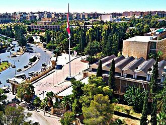 University of Aleppo - General view of the university