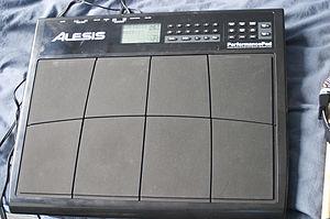 Electronic drum - Alesis PerformancePad electronic drum kit