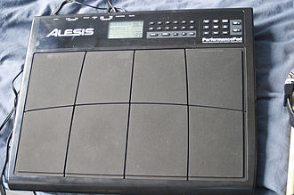 Electronic drum - Alesis PerformancePad electronic drum kit