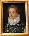Alessandro allori (attr.), ritratto di dama, da poggio imperiale.JPG