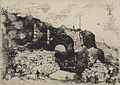 Alexander Schaepkens, Lindenkruispoort Maastricht, ca 1874.jpg