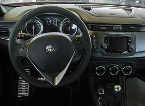 Alfa Romeo Giulietta (940) - Alfa Romeo Giulietta QV dashboard