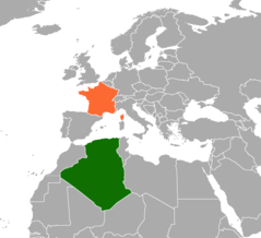 Algeria–France relations Diplomatic relations between the Peoples Democratic Republic of Algeria and the French Republic