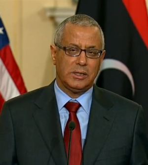 Ali Zeidan - Image: Ali Zeidan at US State Department 2013