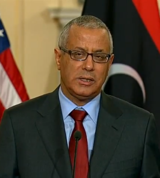 Ali Zeidan at US State Department 2013 (Wikimedia Commons)