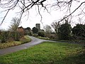 All Saints church viewed from Rectory Lane-Mill Road junction - geograph.org.uk - 1692051.jpg