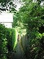 Alleyway east of Elvaston Road (8) - geograph.org.uk - 843487.jpg