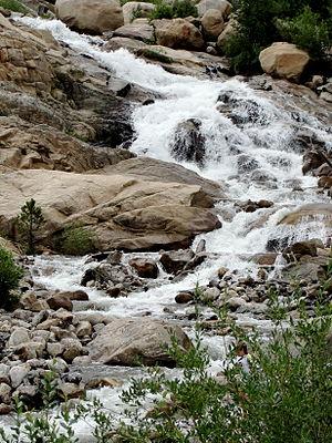 Horseshoe Park - Alluvial Fan Falls