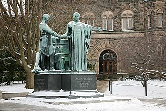 Alma mater - Alma Mater (1929, Lorado Taft), University of Illinois at Urbana–Champaign