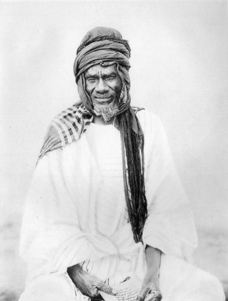 Ivory Coast - Samori Touré, founder and leader of the Wassoulou Empire which resisted French rule in West Africa