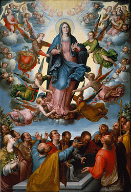 Alonso López de Herrera - The Assumption of the Virgin - Google Art Project