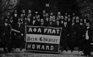 Alpha Phi Alpha - The first General Convention of Alpha Phi Alpha, held at Howard University in 1908