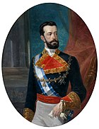 Amadeo as king of Spain