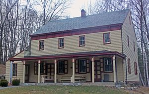National Register of Historic Places listings in northern Westchester County, New York - Image: Amawalk Friends Meeting House, Yorktown, NY