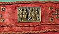 Ambito di nicola pisano, placchette della sacra cintola della cattedrale di pisa, 1280 ca., 06 commiato dei ss. pietro e paolo.jpg