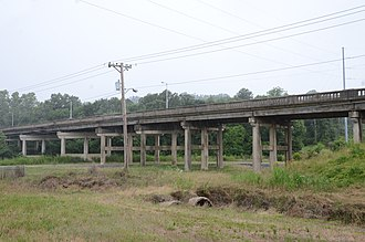 National Register of Historic Places listings in Pulaski County, Arkansas - Image: Amboy Overpass