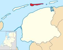 Ameland locator map municipality NL 2018.png