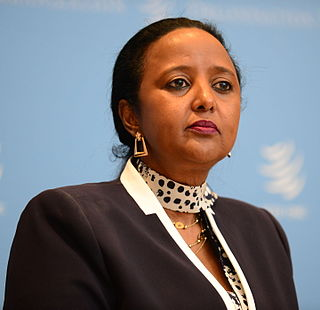 Amina Mohamed Kenyan diplomat and politician