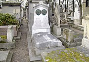 Tombe d' André Marie Ampère – Cimetière de Montmartre - Paris