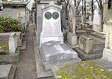 Tombe d'André Marie Ampère – Cimetière de Montmartre - Paris