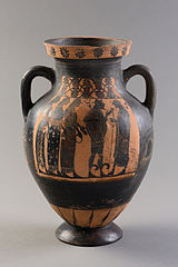 Judgement of Paris Amphora