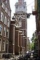 Amsterdam - Zanddwarsstraat - View SSW on Zuiderkerk 1603 Hendrick de Keyser I.jpg