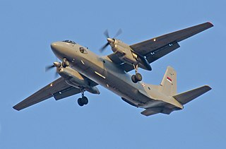 Antonov An-26 Military transport aircraft by Antonov