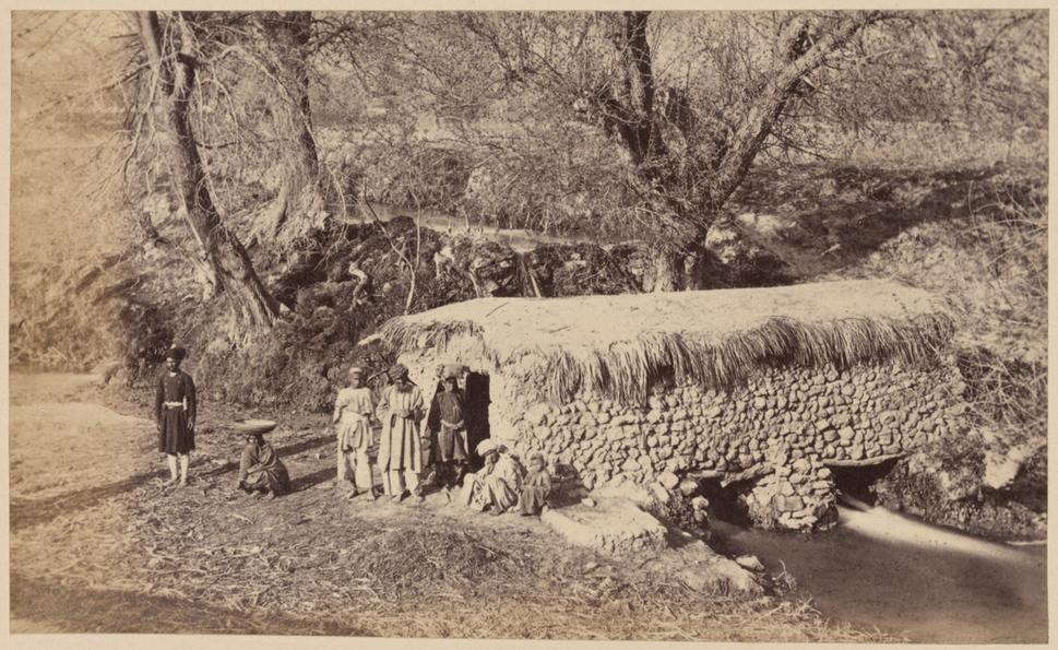 An Afghan Water Mill in Afghanistan WDL11490