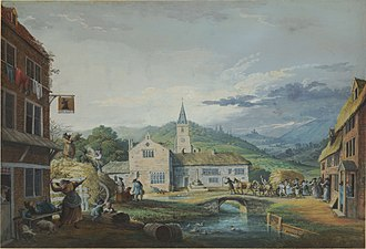 Samuel Hieronymus Grimm - Image: An English Harvest Home by Samuel Hieronymus Grimm 1776