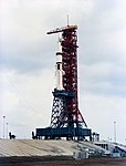 An Overall View of Pad B, Launch Complex 39, Kennedy Space Center.jpg