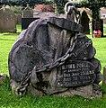 An unusual gravestone - geograph.org.uk - 2104472.jpg
