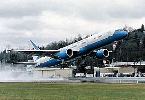 89th Operations Group - A C-32, a specially configured version of the Boeing 757-200 commercial intercontinental airliner