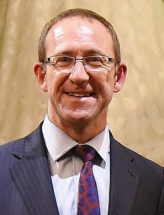 Minister of Justice (New Zealand) - Image: Andrew Little, 2017