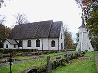 Angerdshestra kyrka i september 2011