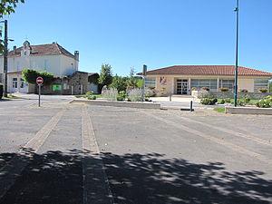 Anglars-Juillac - The town hall in Anglars-Juillac
