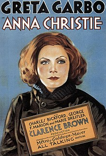 <i>Anna Christie</i> (1930 English-language film) 1930 film